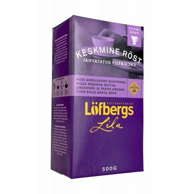 Kohv Löfbergs Lila 500g  (keskmine röst)