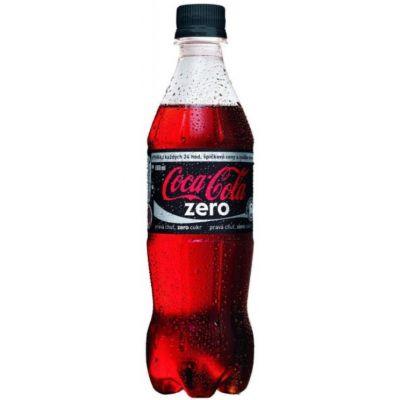 Coca-Cola Zero 0,5l (plast)