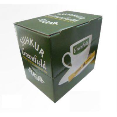Suhkrustick karbis 5gx100tk. (500g), Greenfield valge suhkur