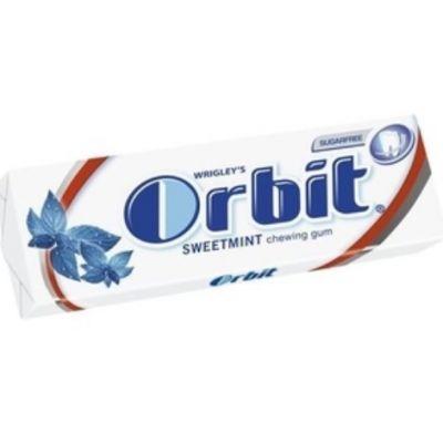 Närimiskumm Orbit Sweetmint 14g (suhkruvabad padjakesed)