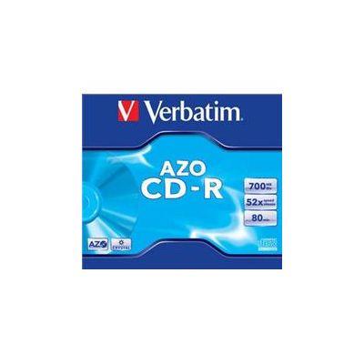 CD-R Verbatim 700MB 80min 52x Slim DataLife, toorik õhukeses karbis, 200 tk kastis