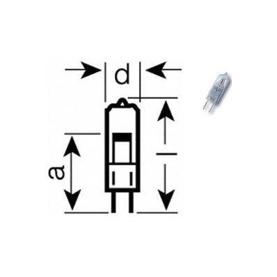 Lamp HLX 64640 24V/150W T4 G6,35 50h (sobib 3M 1615 grafoprojektorile)