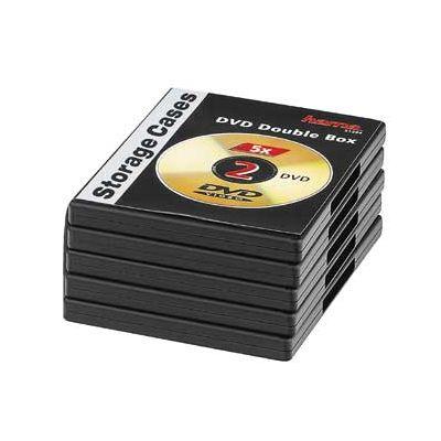 DVD-karp kahele must, pakk (5 DVD-karpi pakis)