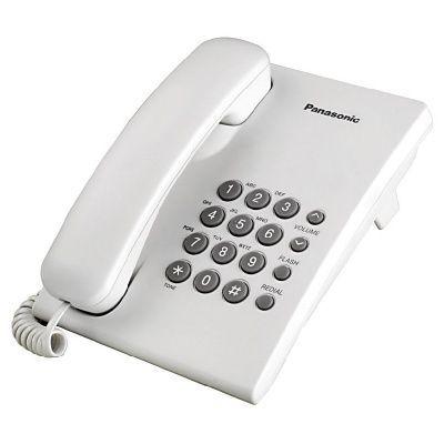Telefon Panasonic KX-TS500FXW White (valge), ITS