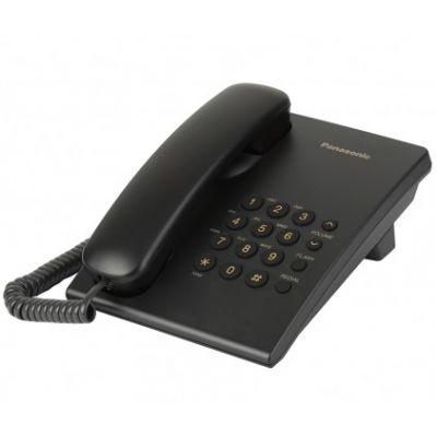 Telefon Panasonic KX-TS500FXB Black (must), ITS