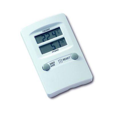Termomeeter-hügromeeter TFAT ( TES ) Lauapealne või seinale paigaldatav digitaalne õhu termomeeter-hügromeeter