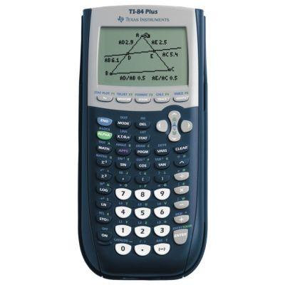 Graafikakalkulaator TI-84 Plus, USB-link, 30 Apps, ROM 480KB/RAM 24KB