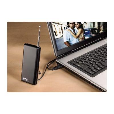 TV-Antenn Hama Mobile DVB-T sülearvutite USB-tuuneritele. võimendi 20dB, USB-toide/toiteadapter