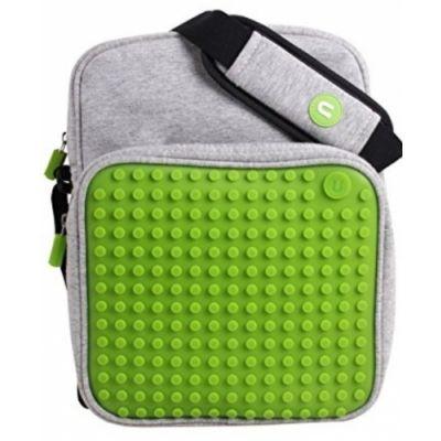 Õlakott Pixelbag 08, hall / roheline