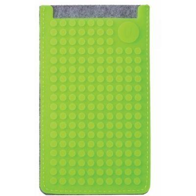 Telefonitasku suur Pixelbag 08, hall / õunaroheline