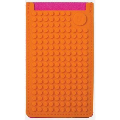 Telefonitasku väike Pixelbag 09, fuksiaroosa / oranž