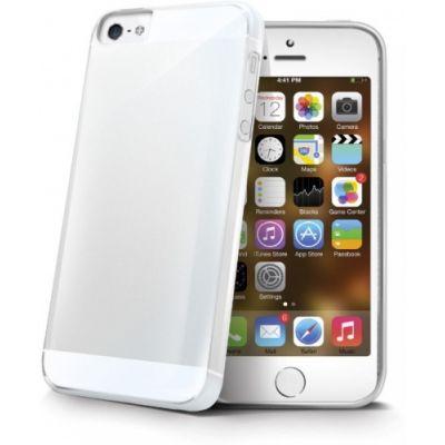 Telefoni tagumine ümbris Celly Gelskin iPhone5/5S/SE läbipaistev