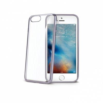 Telefoni tagumine ümbris Celly Laser iPhone7/8 läbipaistev hõbedane