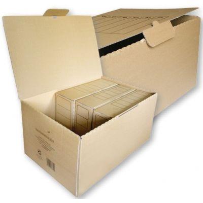 Arhiivikarpide kast , 550x350x265mm,kartong pruun,SMLT