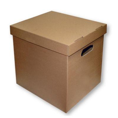Arhiivikarpide kast + kaas , 360 x 290 x 350 mm, pruun,SMLT