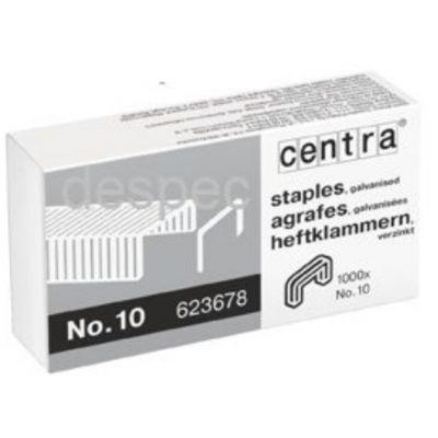 Klambrid Centra 10/4, tsink, 1000tk/pk