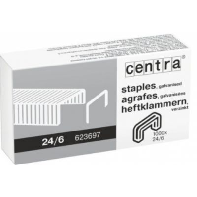 Klambrid Centra 24/6, tsink ,1000tk/pk