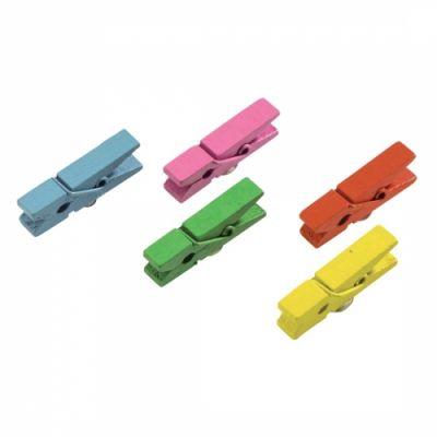 Tahvlimagnet/sedelihoidja Hama Clip - magnetiga pesulõks - pakis 5tk, eri värvidega, magnet 6mm