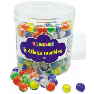 Klaaskuulid, 100 tk, 16 mm, 3+