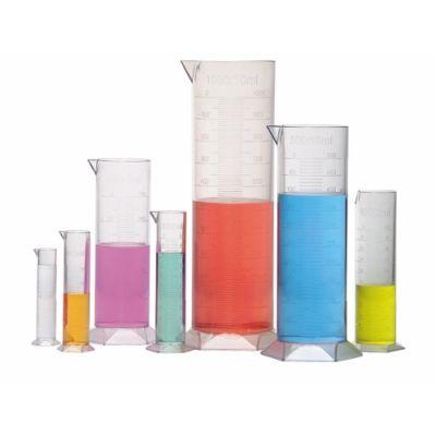 Mõõtesilinder, 10, 20, 50, 100, 250, 500 ja 1000 ml, polüstüreenplast