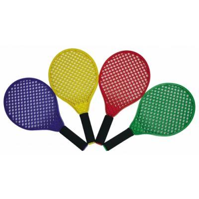 Pehme tennise reket, pikkus 39,5 cm, 2 tk + pall