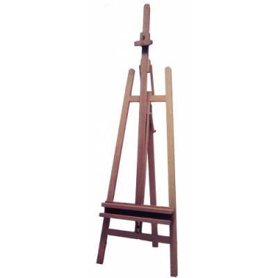 Molbert, maks kõrgus 125 cm, alus 63 x 98 cm