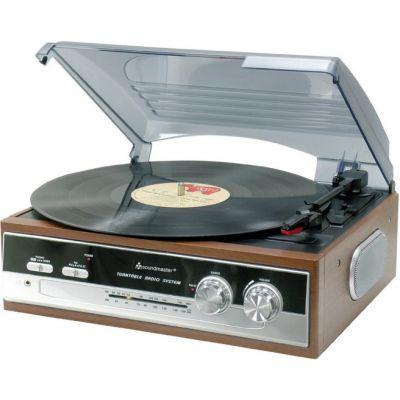 Plaadimängija Soundmaster PL186H, plaadimängija, FM-/AM-raadio