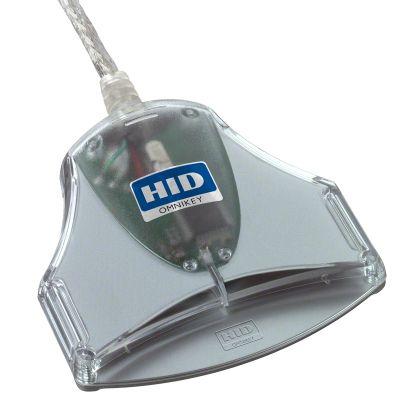 Kiipkaardilugeja HID OMNIKEY3021(FW2.04) USB Smart Card Reader/ID-kaardi lugeja (CM3021B)