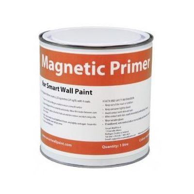 Magnetvärv Smart Magnetic Paint - loob tumehalli värvi magnetilise pinna, üle värvitav, katvus 2,25m2 750ml 1,8kg