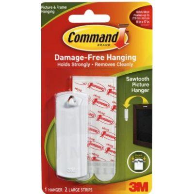 Pildiriputuskonks Command 17040  + kinnitusribad L / 1 konks + 2S Large riba 1,8Kg
