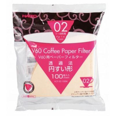 Kohvifilter Hario V60 No.02 paberfiltrid