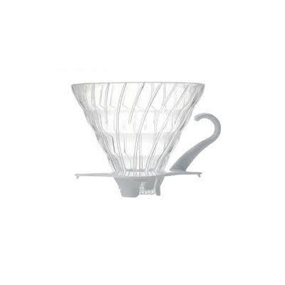 Hario V60 filtrikoonus, läbipaistev plastik (komplektis filtrikoonus ja mõõtekulp)