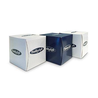 Salvrätik kosmeetiline Bulkysoft Cube 2-kihiline 90tk/karbis