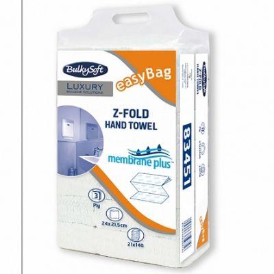 Lehträtik Bulkysoft z-fold Membrane Plus 3-kihiline, 140 lehte/pk
