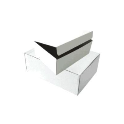 Arhiivikarp A4 12cm, 355x255x120 mm kartong valge ,avaneb suuremast poolest, SMLT