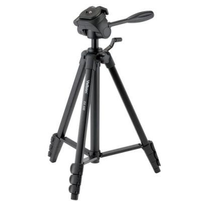 Statiiv Velbon EX-440, 4 sek alum jalad, 3-suunal pea, kandevõime 2kg, h max 153cm