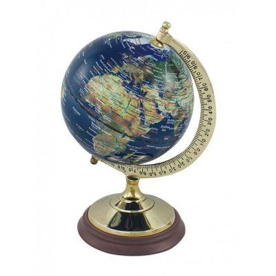 Gloobus ingliskeelne, tumesinine, läbimõõt 12,5/11 cm, kõrgus 22,5 cm, Merenodi