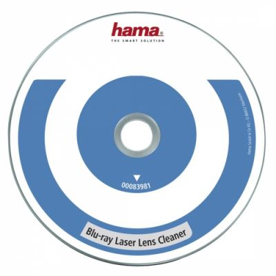 Blu-ray seadme puhastusplaat Hama Blu-ray Laser Lens Cleaner, sobib ka PS3/PS4, 3 mikroharjakest, 7.1 surround sound test