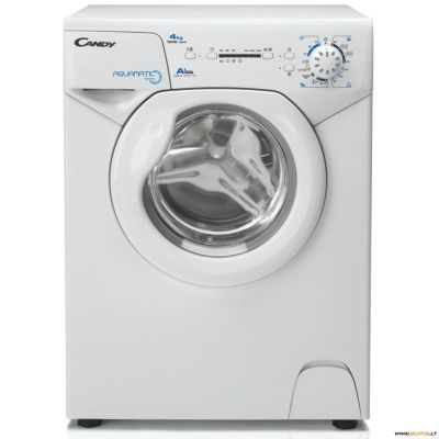 Candy Washing machine AQUA 1041 D1/2-S Front loading, Washing capacity 4 kg, 1000 RPM, A+, Depth 44 cm, Width 51 cm, White,