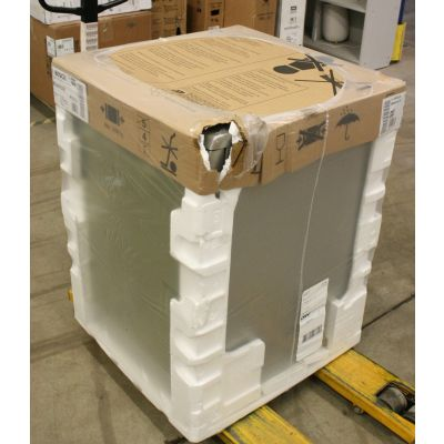 SALE OUT. Bosch Dishwasher SMS4HVI33E Free standing, Width 60 cm, Number of place settings 13, Number of programs 6, Energy efficiency class D, Display, AquaStop function, Silver, DAMAGED PACKAGING,