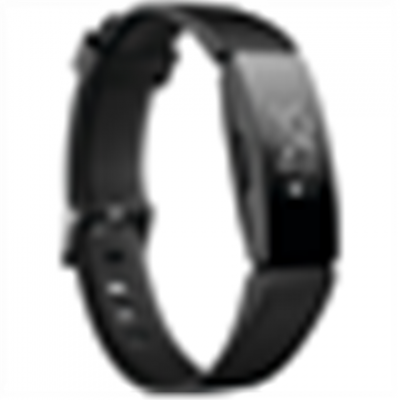 SALE OUT. Fitbit Inspire HR Smart Watches HR, S/L, Black/Black Fitbit Inspire HR Fitness tracker, OLED, Touchscreen, Heart rate monitor, Activity monitoring 24/7, Waterproof, Bluetooth, DEMO, Black