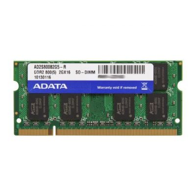 Dimm 2GB 800MHz DDR2 SODIMM CL5 A-Data