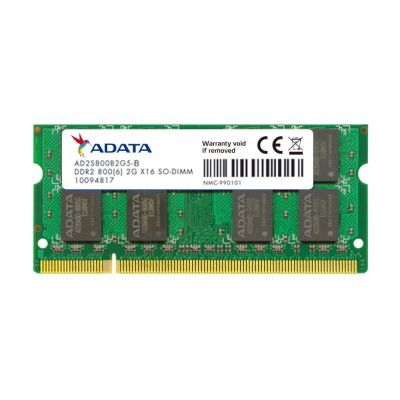 Dimm 2GB 800MHz DDR2 SODIMM CL5 A-Data