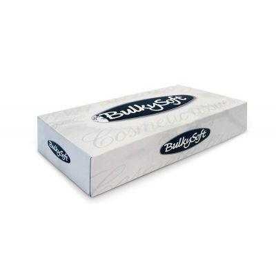 Salvrätik kosmeetiline Bulkysoft Facial Tissue 2-kihiline valge 100tk/pk