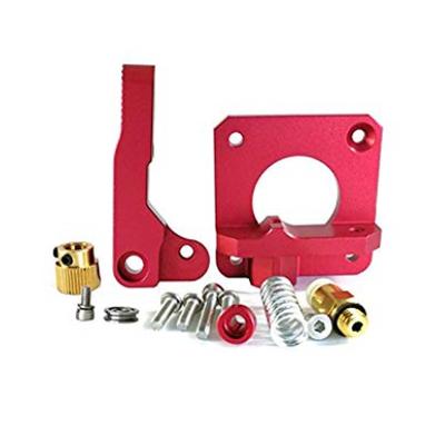 Creality MK8 / CR10 Red Metal Extruder Kit