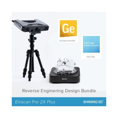 3D-skänner EinScan Pro 2X Plus Reverse Engineering Design Bundle pöördprojekteerimise komplekt