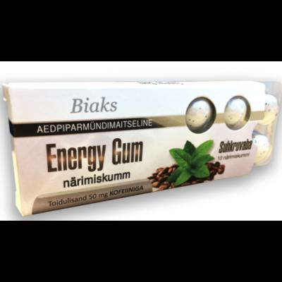 Närisimiskumm Energy Gum 50mg kofeiiniga (10tk/pk)