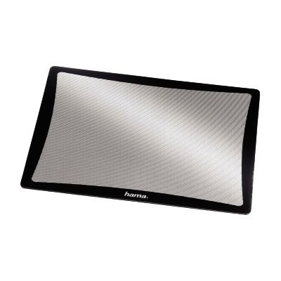 Hiirepadi Hama Optical Mouse Pad, black (must raam/hõbedane optilisele hiirele sobiv täppispind)