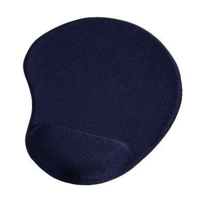 Hiirepadi randmetoega Hama Ergonomic Mouse Pad Blue, sinine, geeliga randmetugi