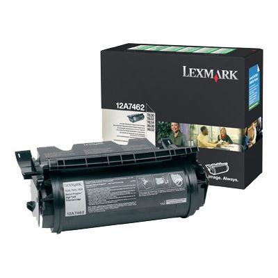 Tooner Lexmark 12A7462 High Capacity Black/must 21000lk T630/T632/T634